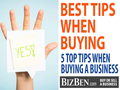 5 Tips When Buying A Business