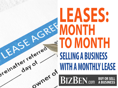 Month To Month Leases Selling A Business