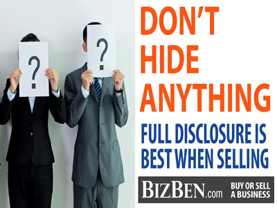 Full Disclosure Sell A Business