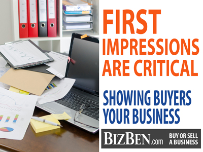 First Impressions Selling Your Business