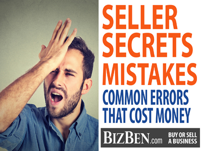 Errors When Selling A Business