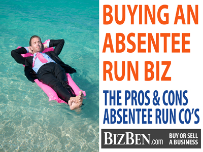 Buying An Absentee Run Business
