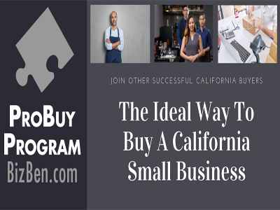 BizBen ProBuy Program - Professional Assistance With Buying A Small Business