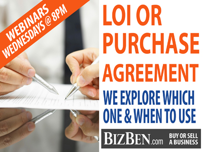 LOIs vs Purchase Agreements Buying A Business