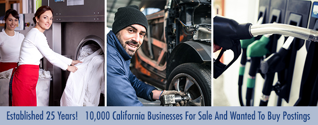 California Business Brokers Selling Businesses