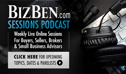 Live BizBen.com Sessions Podcast