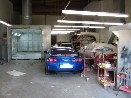 Auto Body Paint Shop Business Opportunity For Sale Costa