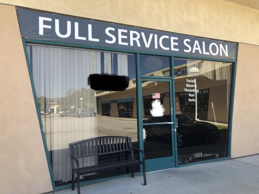Ventura County Hair Nail Salon And Spa - With Esthetician Rooms Business For Sale