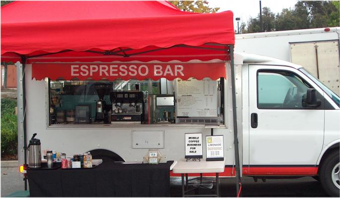 Ventura Established Highly Profitable Mobile Coffee Truck For Sale