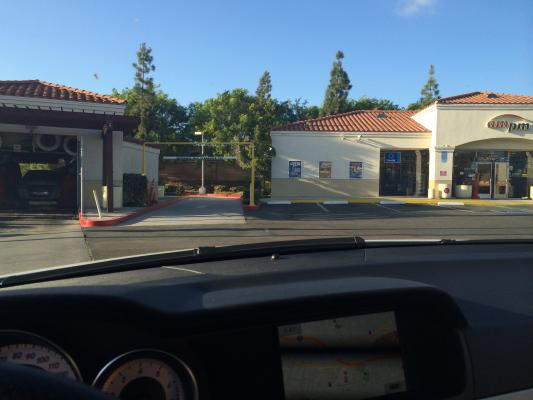 La Mesa, San Diego County Arco AMPM Gas Station, Car Wash - With Real Estate For Sale