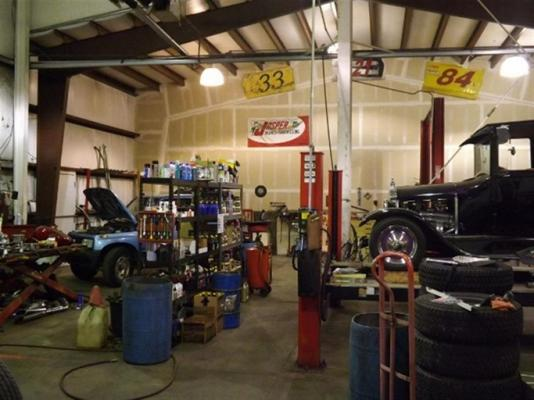 Garage Auto Repair Commercial Real Estate For Sale Delaware: Sierra Moutains, Auto Repair Shop And Mini Storage For