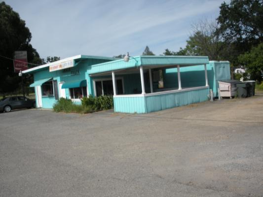 Redding, Shasta County Small Restaurant With Real Estate - Room To Build For Sale