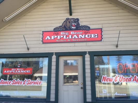 Big Bear Lake Appliance Store For Sale