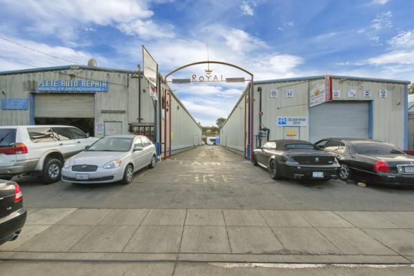 Auto Body, Auto Repair Shop With Real Estate Company For Sale