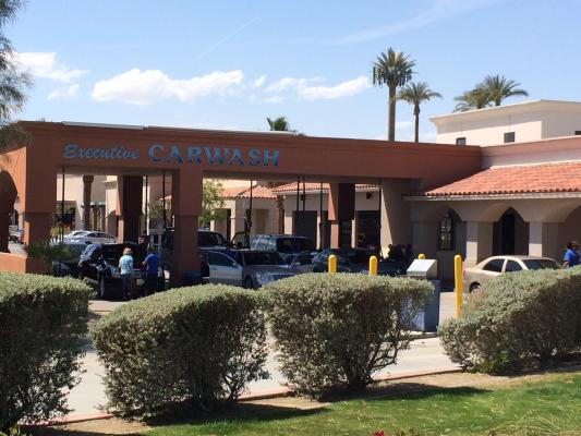 Palm Desert Car Wash Flex With Real Estate For Sale