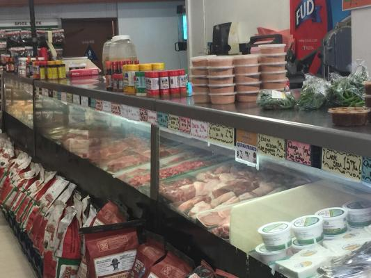 Mc Farland, Kern County Meat Market With Mexican Restaurant - Real Estate For Sale
