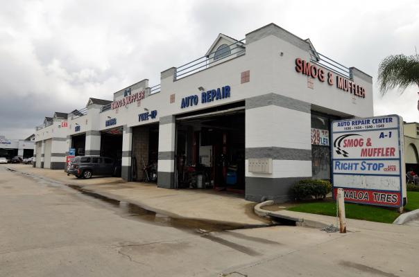 Los Angeles County Area Auto Repair Shop And Smog Testing Center For Sale