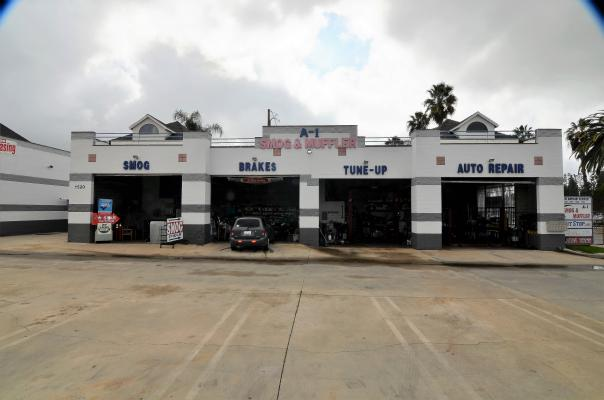 Auto Repair Shop And Smog Testing Center Business For Sale