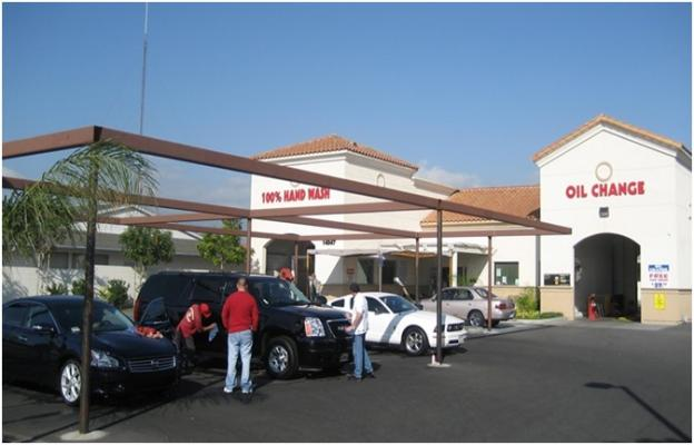 Los Angeles County Full Service Car Wash Quick Lube C-Store For Sale