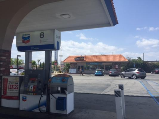 Temecula Chevron Gas Station With Market And Self Storage ...