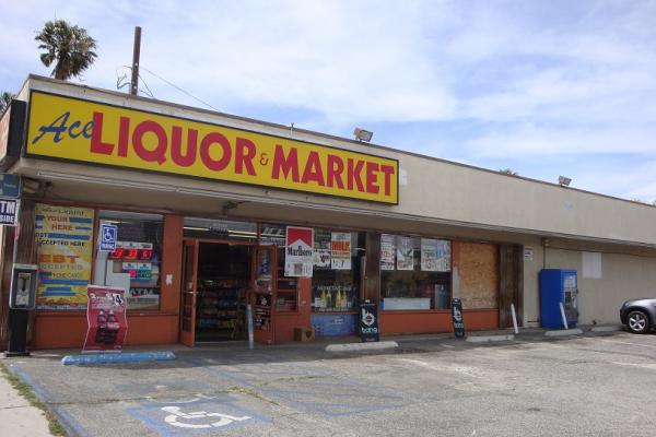 Torrance, LA County Free Standing Liquor Store With Real Estate For Sale