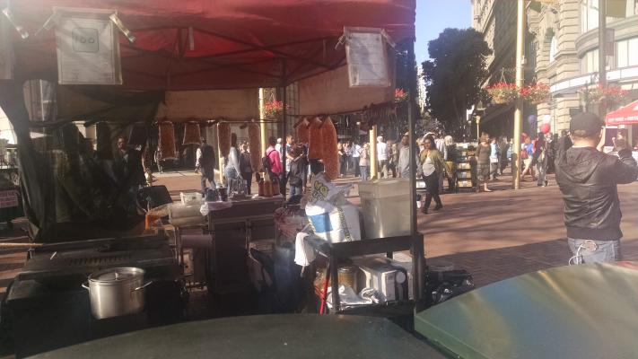 Food Carts With City Street Use Permits Company For Sale