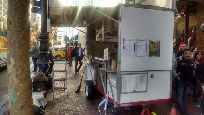 Buy, Sell A Food Carts With City Street Use Permits Business