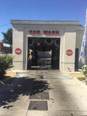 Mobil Gas Station And Car Wash With Property Company For Sale
