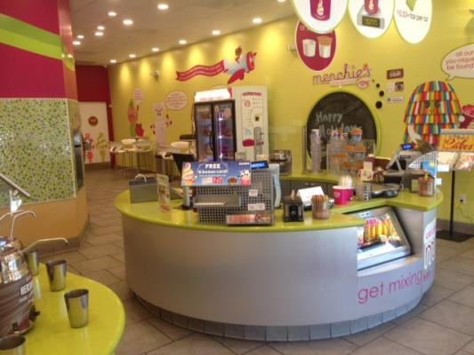 Menchies Self Serve Frozen Yogurt Franchise Business For Sale