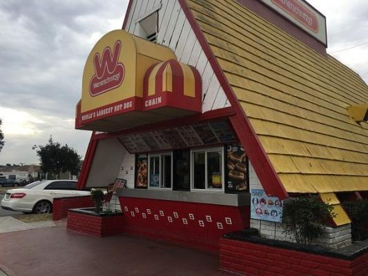 Los Angeles County, CA Wienerschnitzel Franchise - Absentee Owner For Sale
