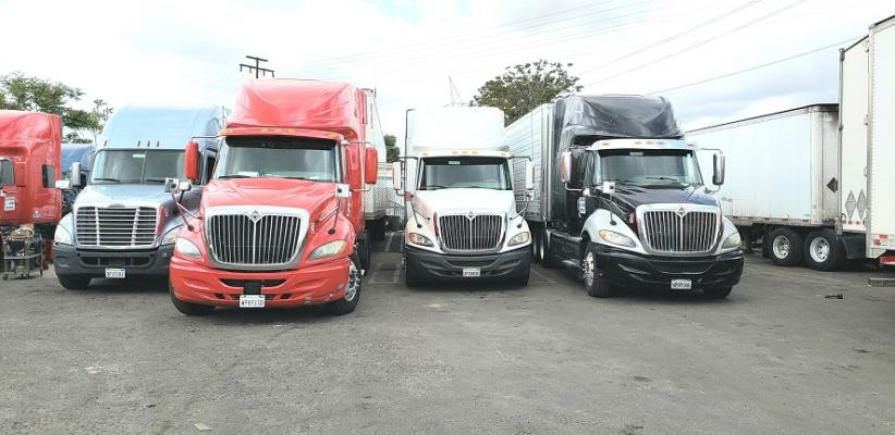 Los Angeles County Area Trucking Company - Long Haul Nationwide For Sale