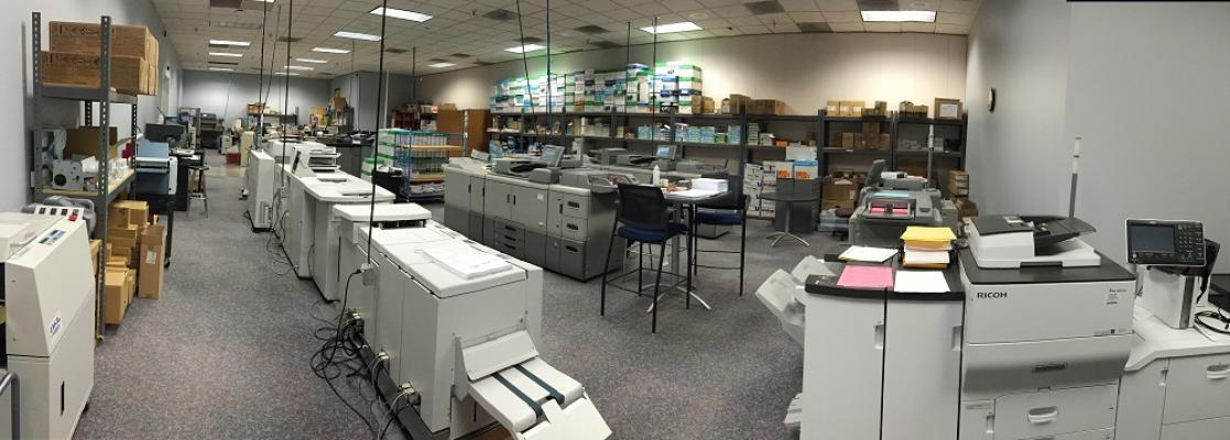 Los Angeles County Area Established Print Shop - Asset Sale For Sale