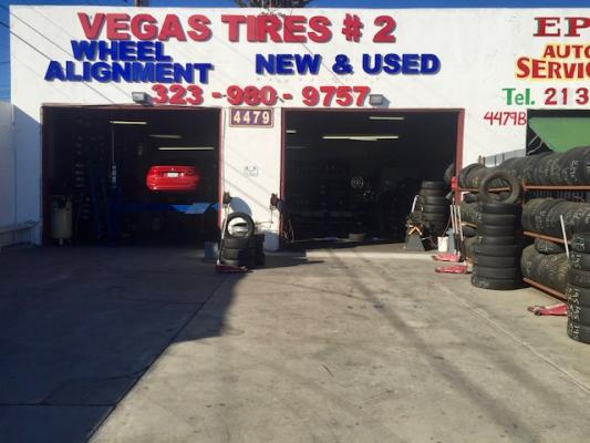 Los Angeles County Area Retail Tire Center - Updated Equipment, Lifts For Sale