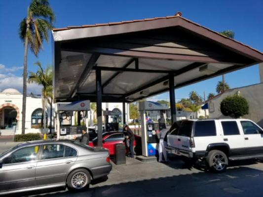 Santa Barbara Arco Gas Station, AMPM - With Real Estate For Sale