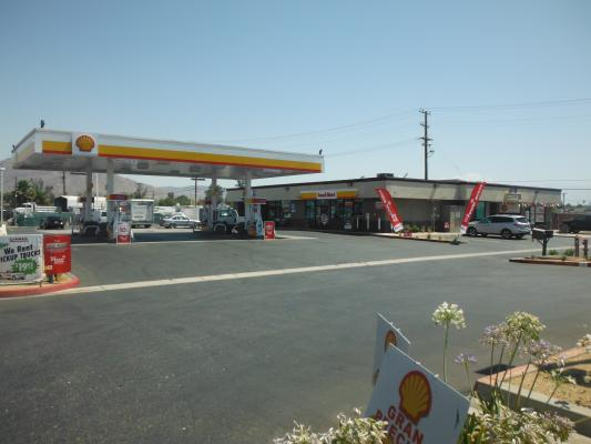 Riverside County Shell Gas Station With C-Store For Sale
