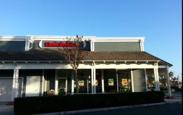 Buena Park, Orange County Flame Broiler Franchise Restaurant- Absentee Owner For Sale