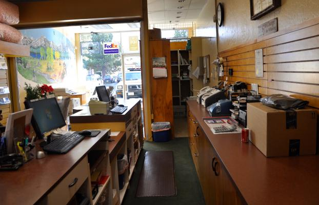 South Lake Tahoe Postal Center - Long Established, Very Profitable For Sale