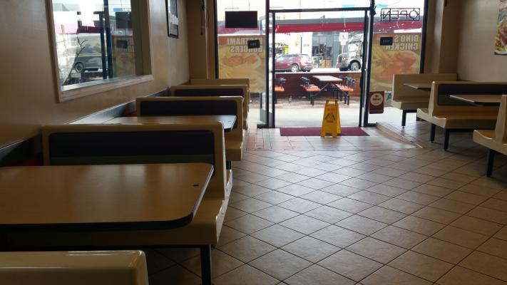 Hamburger Franchise Restaurant Business For Sale