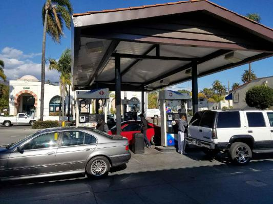Santa Barbara Arco AMPM Gas Station For Sale