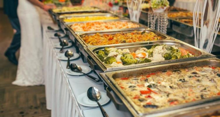 Whittier, LA County Catering Banquet Room Cafeteria For Sale