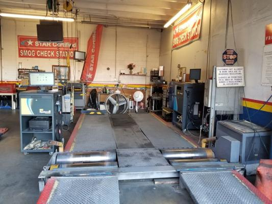 Smog Check Only Shop - Star Certified Business For Sale