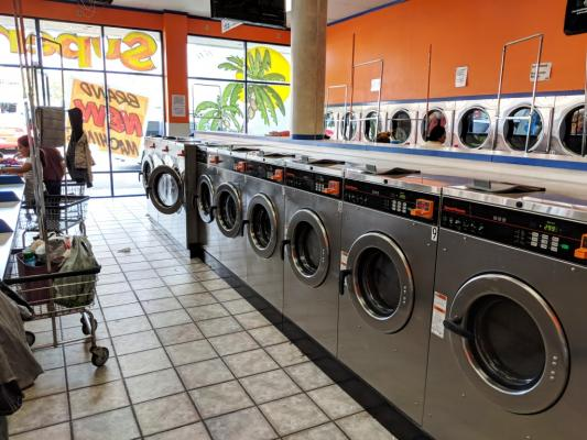 Modern Card Laundromat Business For Sale