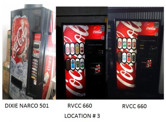 Vernon, Los Angeles County Vending Location For Sale