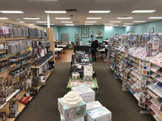 Northern California Scrapbook Store For Sale