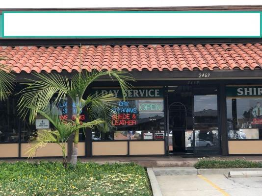 Orange County  Dry Cleaners For Sale