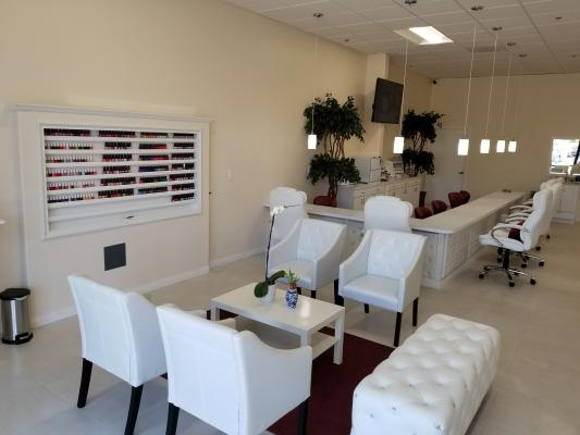 Lake Forest, Orange County Brand New Nail Salon - With Esthetician Room For Sale