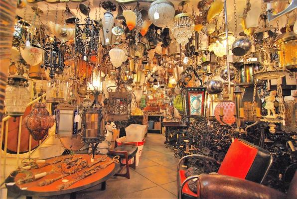 Los Angeles Antique Store For Sale