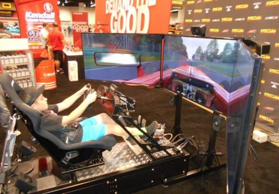 Los Angeles County Mobile Racing Simulator Entertainment Service Business For Sale