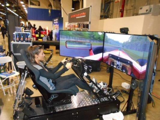 Mobile Racing Simulator Entertainment Service Company For Sale