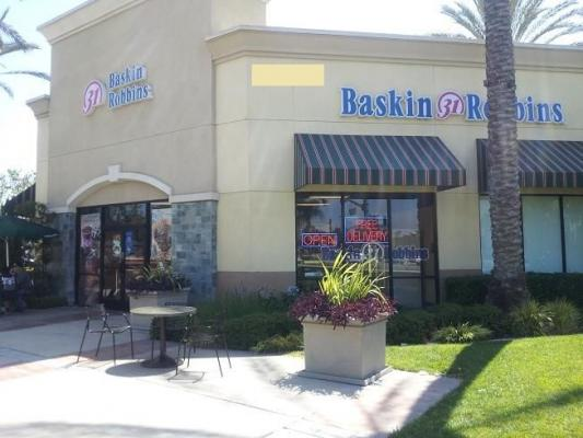 Pico Rivera Baskin Robbins Ice Cream Franchise In Food Court For Sale